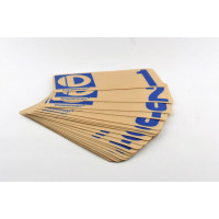 Number decal (set) 1 to 100